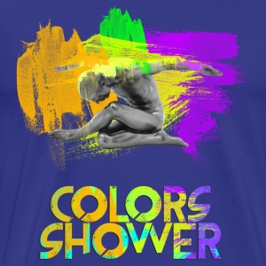 Colors Shower - Men's Premium T-Shirt