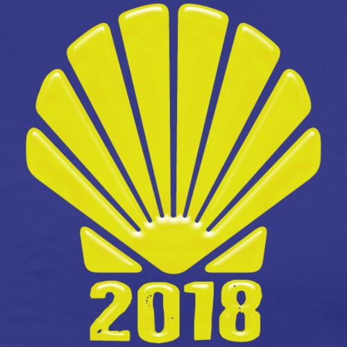 Jakobsweg 2018 Camino de Santiago - Männer Premium T-Shirt