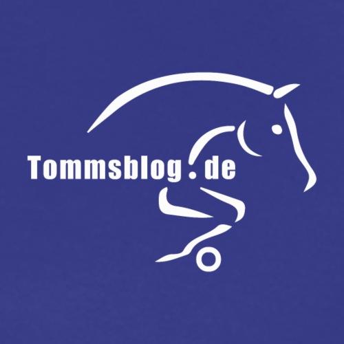 tommsblog logo 300dpi weiss - Männer Premium T-Shirt