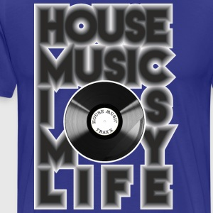 House Music is my life - Männer Premium T-Shirt