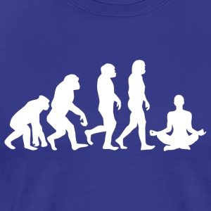 ++ ++ YOGA EVOLUTION - Mannen Premium T-shirt