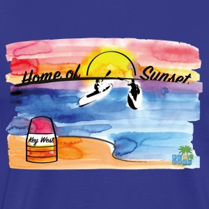 Key West - Home of Sunset - Männer Premium T-Shirt