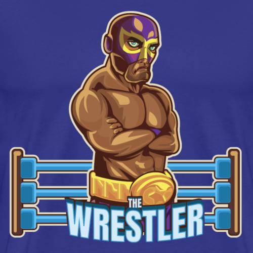 Mexican The Wrestler 2 - Men's Premium T-Shirt