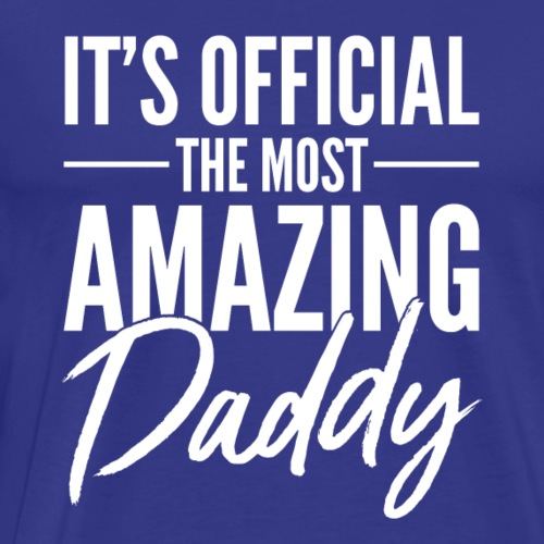 Amazing Daddy - Men's Premium T-Shirt