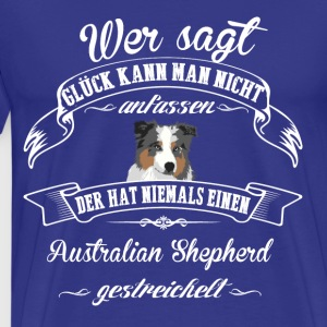 Australian Shepherd Happiness - Premium T-skjorte for menn