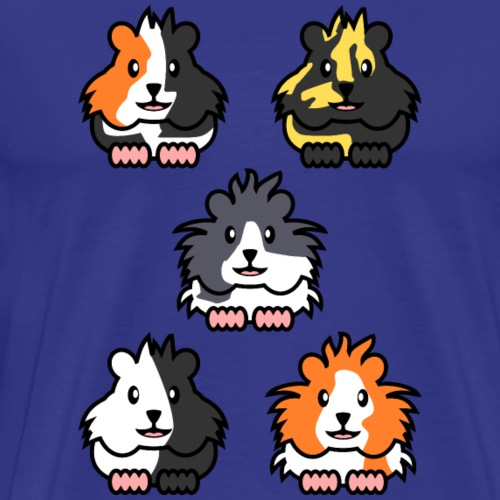Cartoon Meerschweinchen - Männer Premium T-Shirt