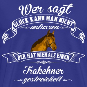 Trakehner luck - Men's Premium T-Shirt
