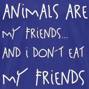 Animals are my Friends - Männer Premium T-Shirt