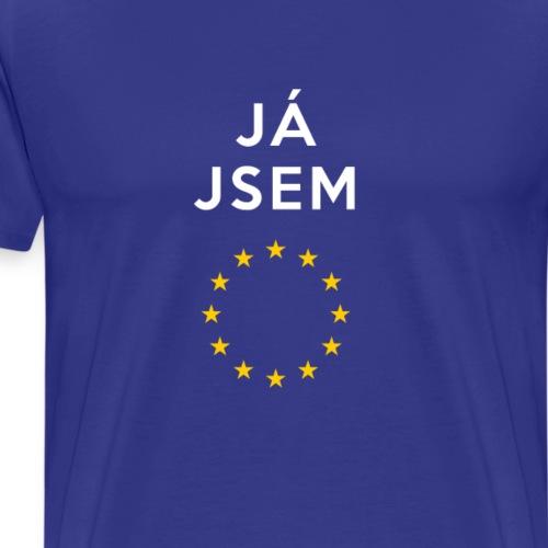 Yes Jsem Evropa - Men's Premium T-Shirt