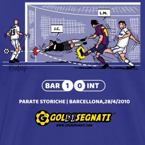 BAR-INT 1-0 La storica parata di JC - Maglietta Premium da uomo