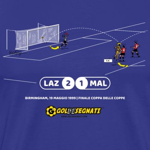 LAZ-MAL 2-1 | Il Gol di Bobo nella Finale CDC - Maglietta Premium da uomo