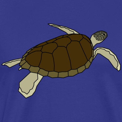 Wasserschildkröte - Turls Colored - Männer Premium T-Shirt
