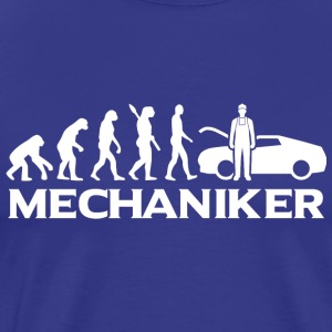 Evolution Mechaniker Mechanikerin wt - Männer Premium T-Shirt