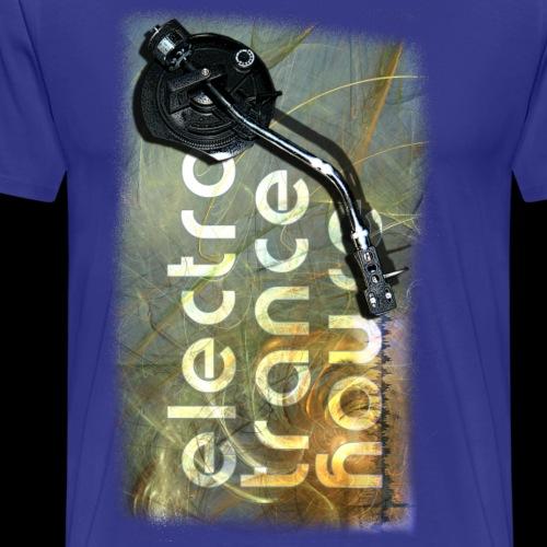 electro trance house - Männer Premium T-Shirt