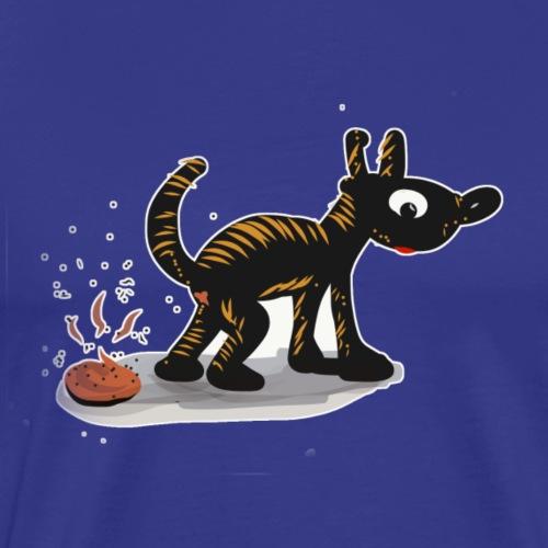 perrito cagón - Camiseta premium hombre