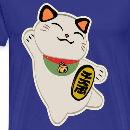 Maneki Neko (Gato de la suerte) - Camiseta premium hombre