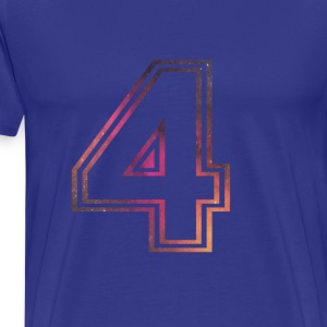 Fame Allstars Alphabet 4 - Men's Premium T-Shirt