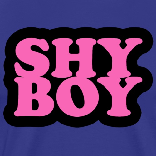 Shy Boy - Men's Premium T-Shirt