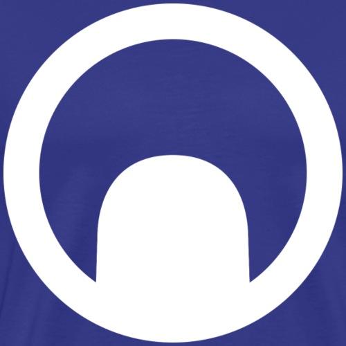 Emblème (Blanc) - T-shirt Premium Homme