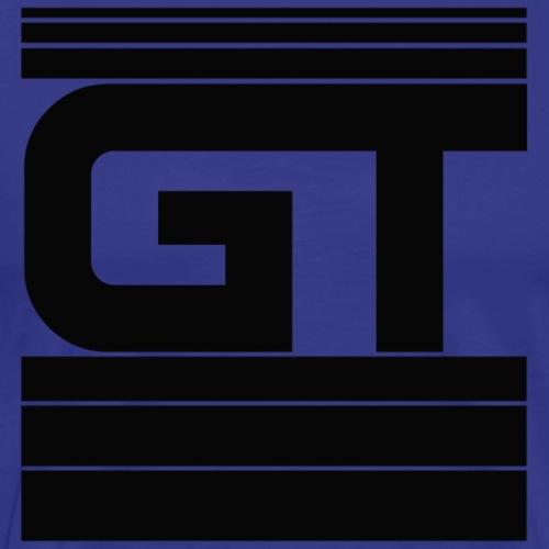 Gymtastic - GT - Striche - blau - Sportbekleidung - Männer Premium T-Shirt