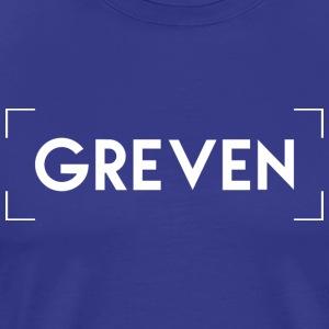 Greven - Premium T-skjorte for menn