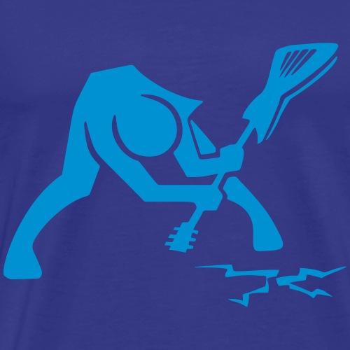 BR_rockstar_gitarre_crash - Männer Premium T-Shirt