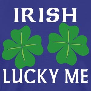 Irish Lucky Me - Premium T-skjorte for menn