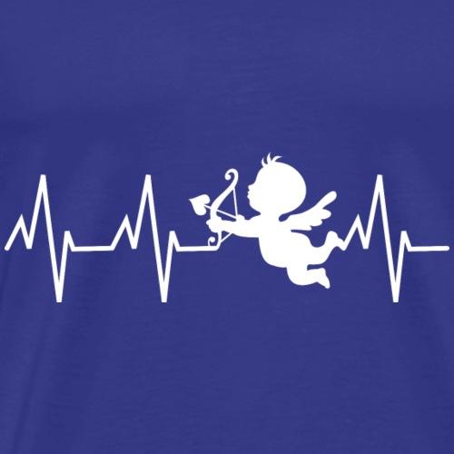 cupidon, battement de coeur - T-shirt Premium Homme