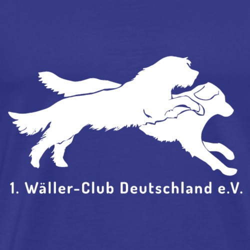 1. Wäller-Club Deutschland e.V. - Männer Premium T-Shirt