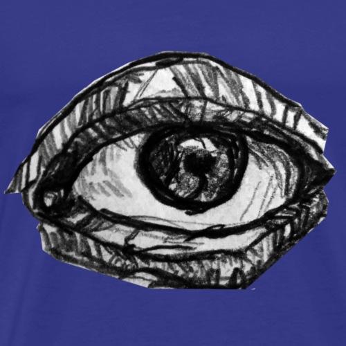 Tredje ögat - Premium-T-shirt herr