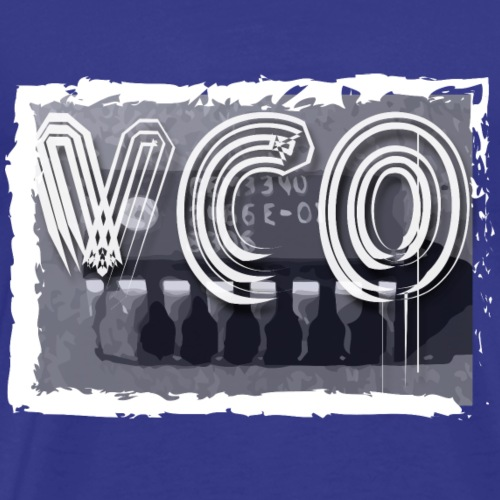 VCO Synthesiser chip apparel - Men's Premium T-Shirt
