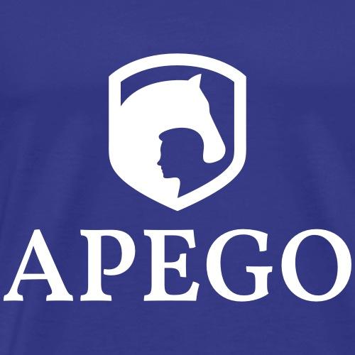 APEGO brand white - Männer Premium T-Shirt