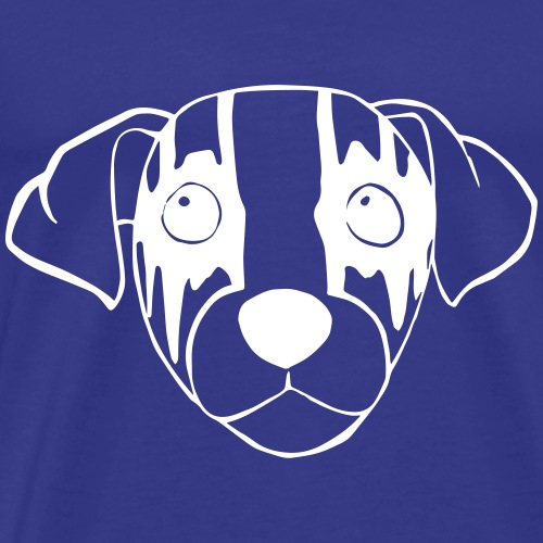 Black Metal Hund - Männer Premium T-Shirt