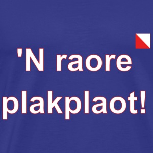 n raore plakplaot def w - Mannen Premium T-shirt