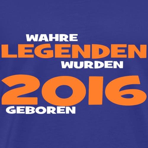 Wahre Legenden 2016 - Männer Premium T-Shirt