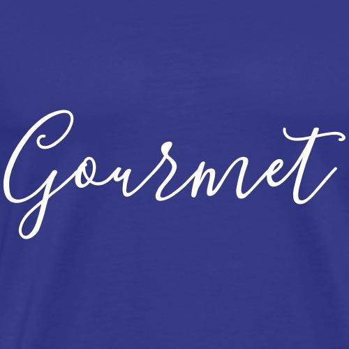 Gourmet - Männer Premium T-Shirt