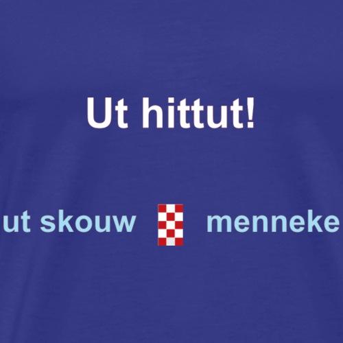 Ut hitut-blauw - Mannen Premium T-shirt
