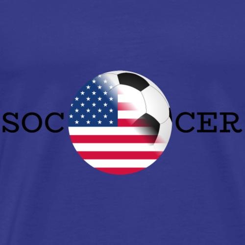 Soccer usa - Männer Premium T-Shirt