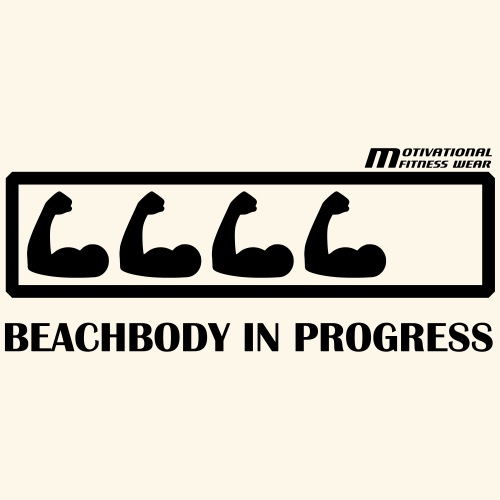 Beachbody in progress - Männer Premium T-Shirt