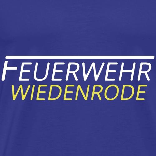 FF Wiedenrode BackDra - Männer Premium T-Shirt