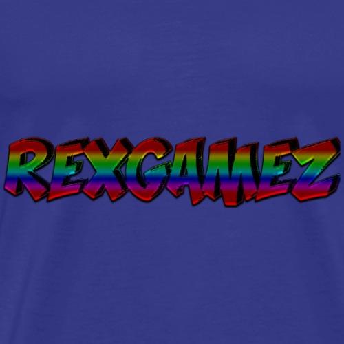 pet met Tekst - Mannen Premium T-shirt