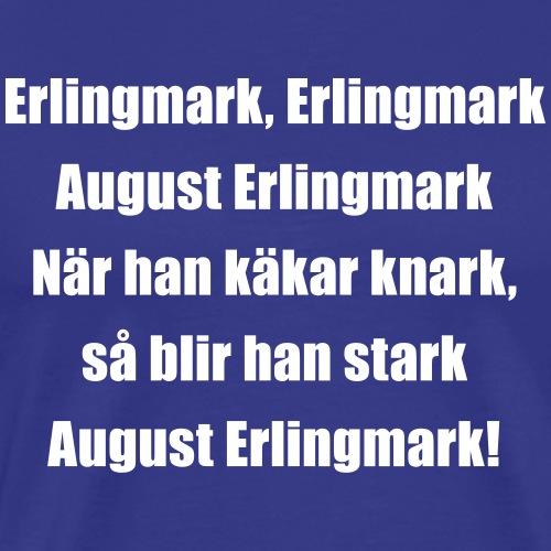 Lill-Erling Vit - Premium-T-shirt herr
