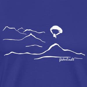 Panoramaflug - Männer Premium T-Shirt