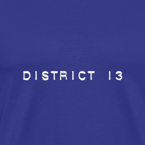 Bandlogo District 13 - Männer Premium T-Shirt