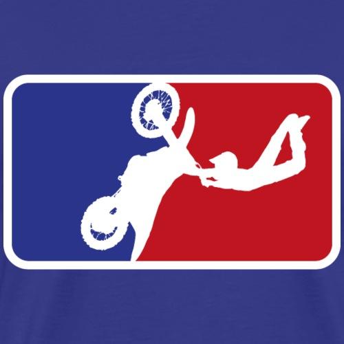 Motorcross sport logo - Männer Premium T-Shirt