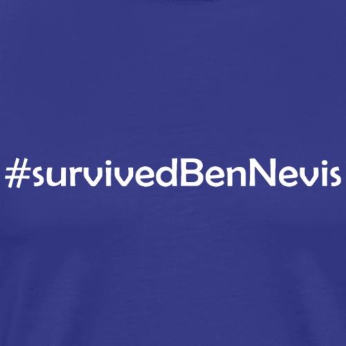 Ben Nevis Berg Munro Schottland - Männer Premium T-Shirt