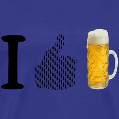 I like bier - Männer Premium T-Shirt