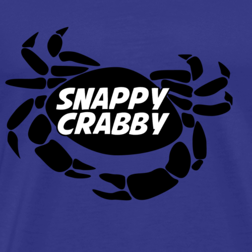 Snappy Crabby - Black - Men's Premium T-Shirt