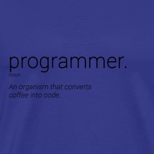 Programmer noun - Maglietta Premium da uomo