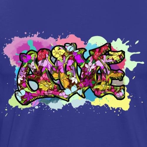 grafitti aguada - Camiseta premium hombre